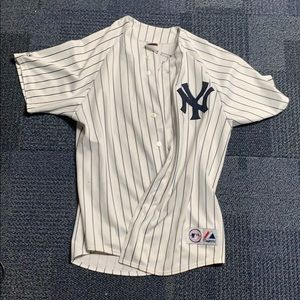 Authentic Derek Jeter jersey Size XL